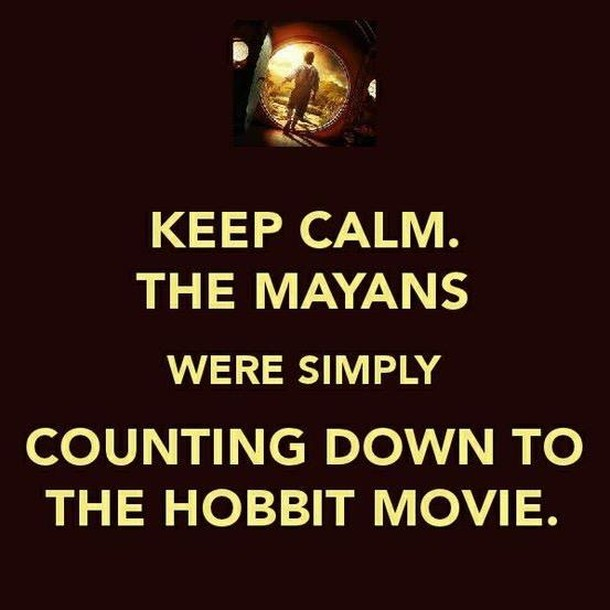 keep calm – the mayans