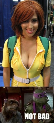not bad  221x500 not bad  tmnt Sexy NeSFW cosplay