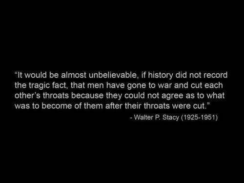 religous war quote