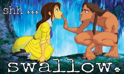 shh - swallow