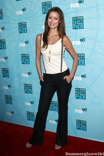 summer glau in suspenders 333x500 summer glau in suspenders vertical wallpaper summer glau Sexy