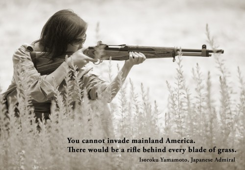 you cannot invade mainland america 500x347 you cannot invade mainland america Weapons Quotes