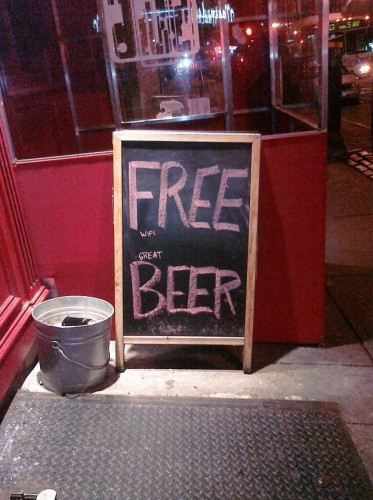 FREE wifi great BEER 373x500 FREE wifi great BEER