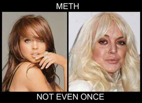meth - not even once