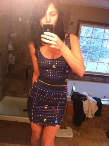 pacman dress