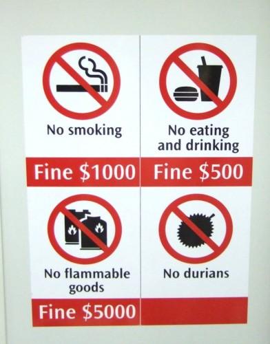 singapore fines