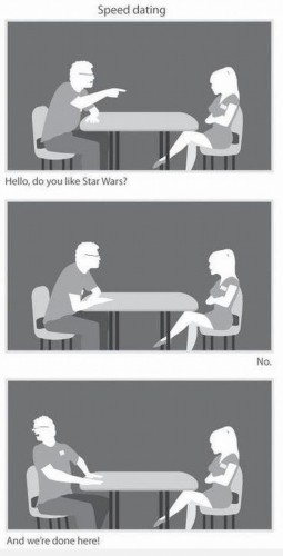 speed dating star wars 255x500 speed dating   star wars star wars Humor