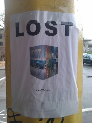 Lost - Its a tv show