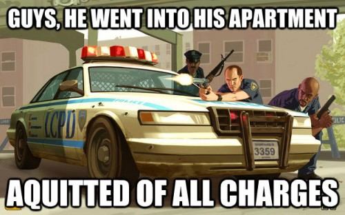 Proper Procedure 500x312 Proper Procedure Humor grand theft auto Gaming