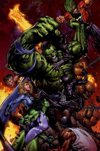 hulk vs marvel