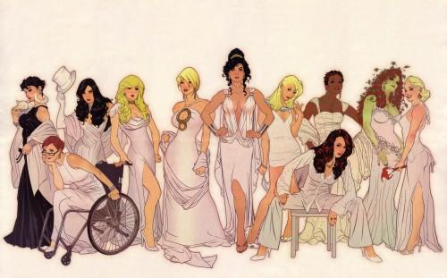 women of DCU