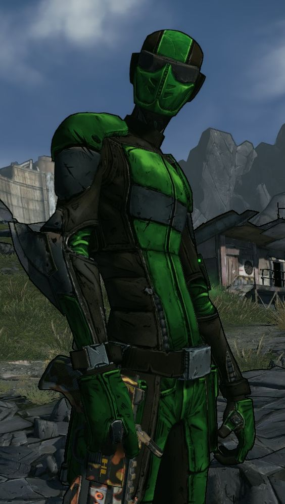 Borderlands 2 – Green Assassin