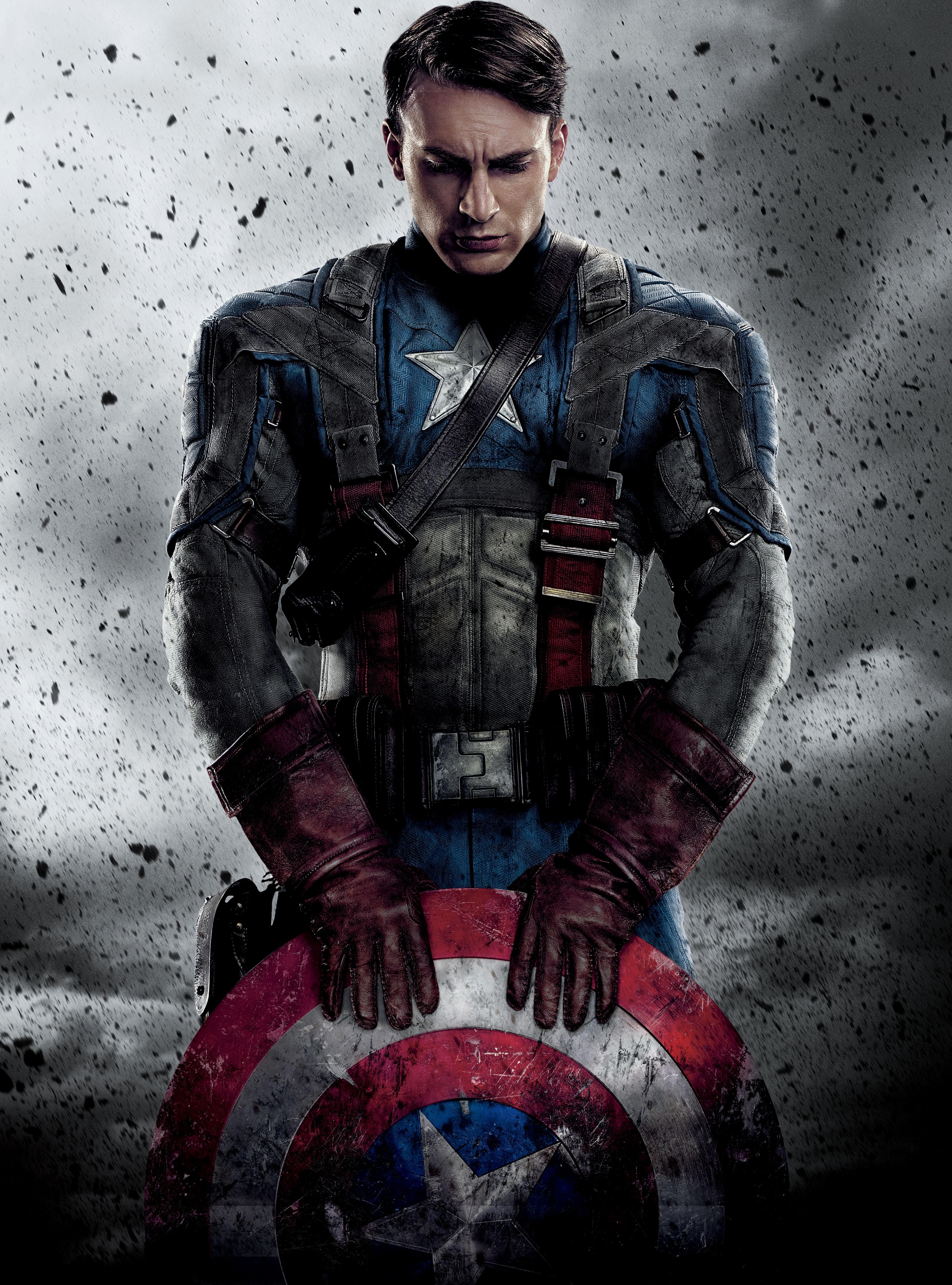 Captain america movie poster myconfinedspace - Image captain america ...