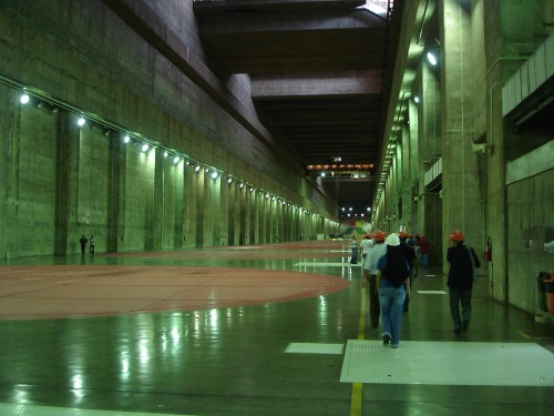 huge hallway