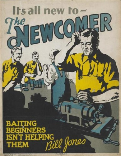 it's all new to the newcomer
