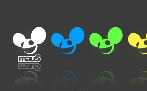 mau5 in color wallpaper