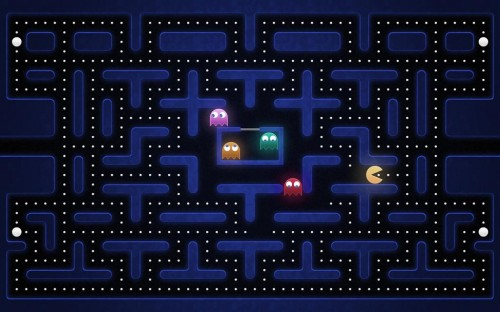 pac-man wallpaper
