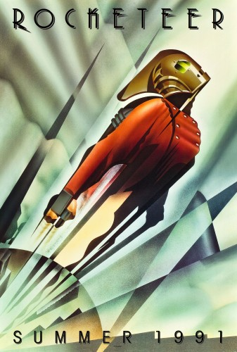 rocketeer movie poster - summer 1991