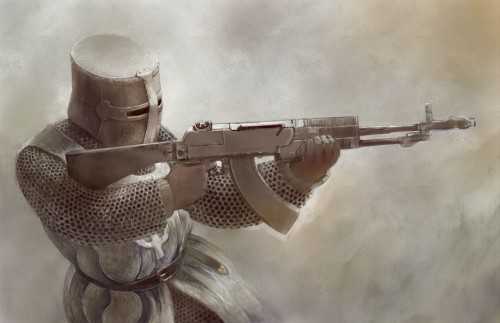well armed crusader
