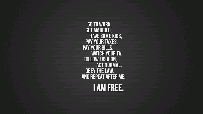 I am free 700x393 I am free Wallpaper Sad :( Quotes