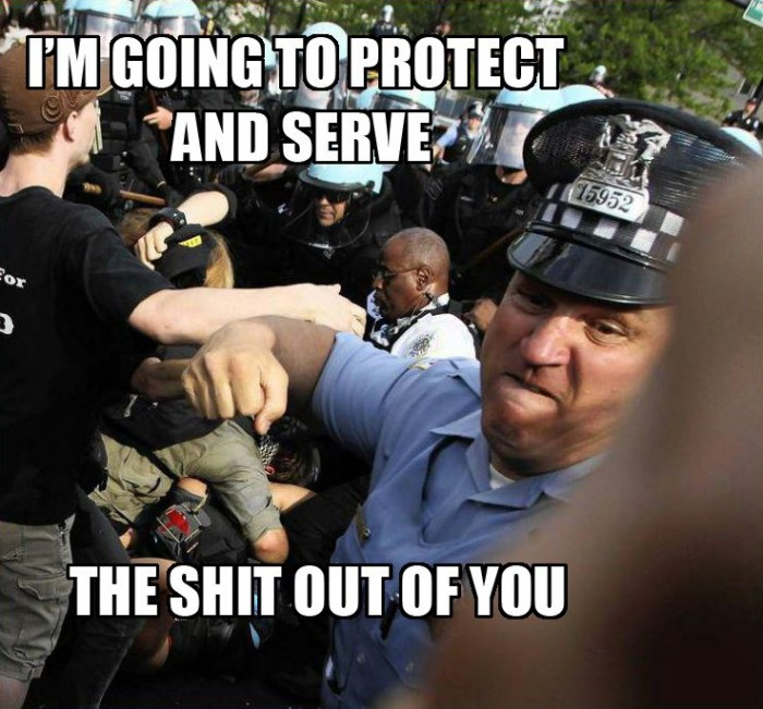 Im going to protect and serve the shit out of you 700x651 Im going to protect and serve the shit out of you wtf Sad :( Politics forum fodder