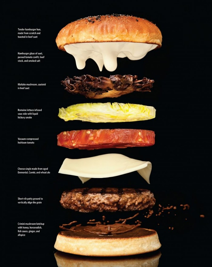 anatomy of a burger 700x882 anatomy of a burger Science! Food