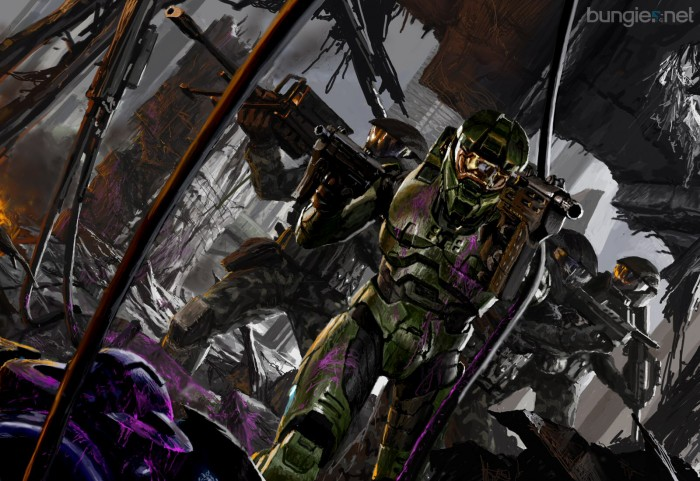 halo 2 remember when MC could dual weild 700x481 halo 2   remember when MC could dual weild Wallpaper halo Gaming