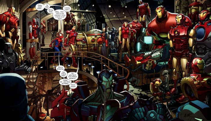 iron man warehouse 700x403 iron man warehouse Wallpaper Iron Man Humor Comic Books