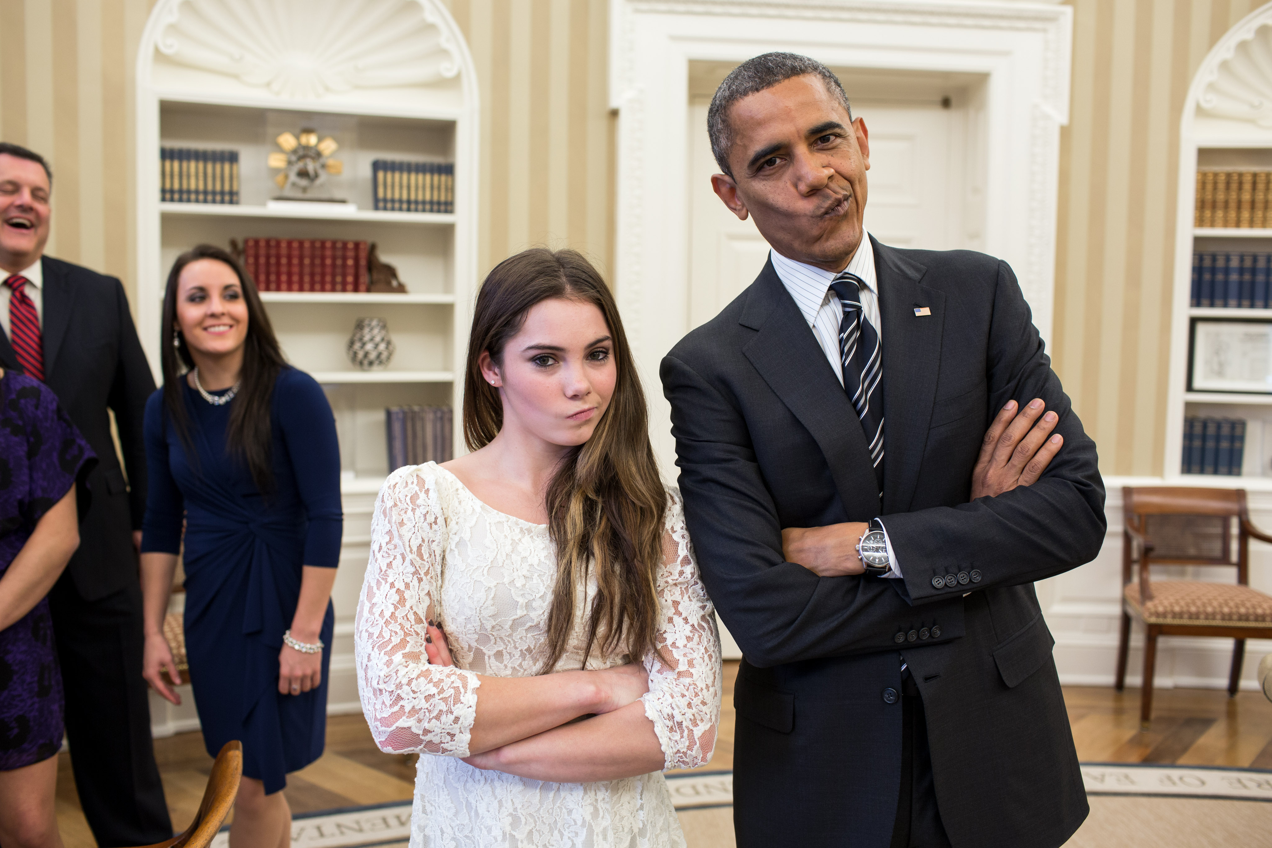 obama smirk with kayla maroney.jpg