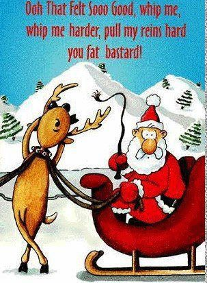 whip me santa whip me santa X Mas Sexy Humor