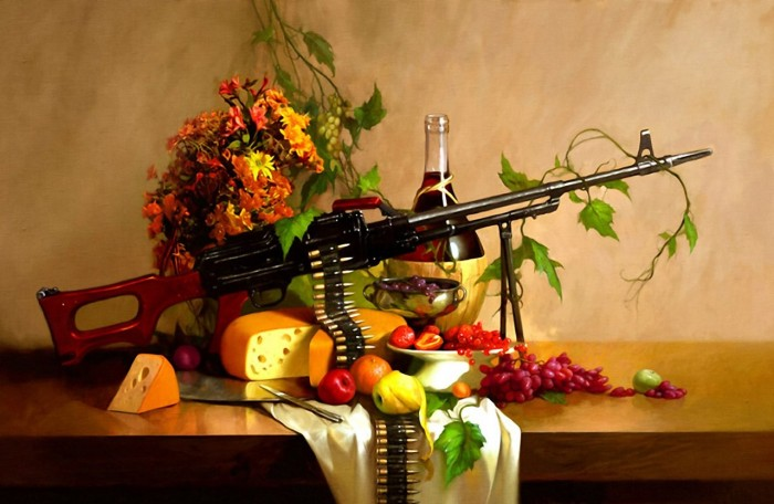 wine, cheese and machine guns.jpg