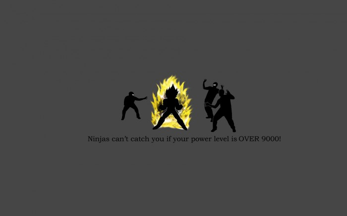 ninjas can't catch you if your power leve is OVER 9000.jpg