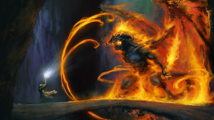 Lord of the Rings - Balrog wallpaper.png