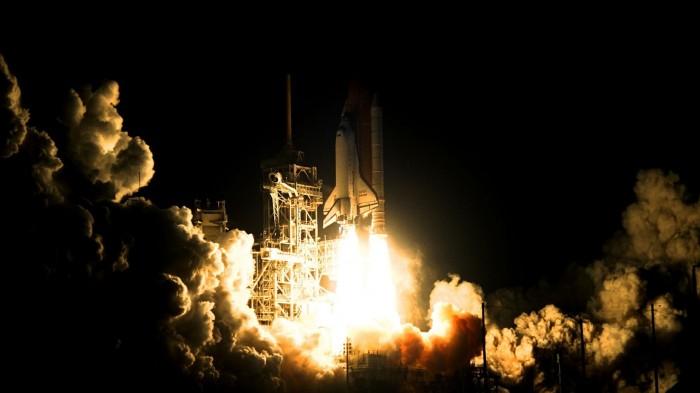 NASA Shuttle Launch at night wallpaper.jpg