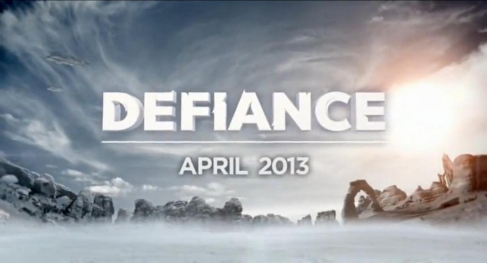 defiance title screen 700x378 Defiance   The Video Game of the Television series of the Video Game Wallpaper Video Games Television science fiction Movies Gaming Awesome Things