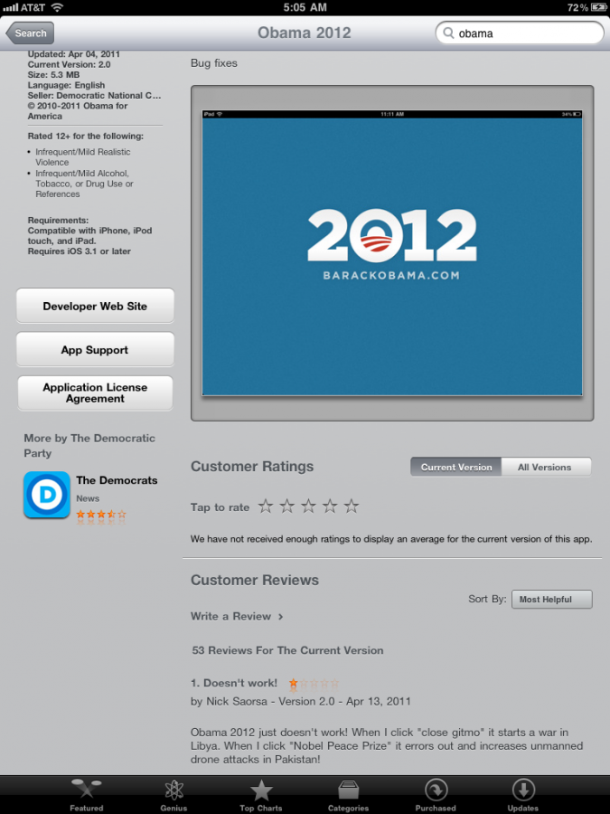 Obama 2012 app review.png