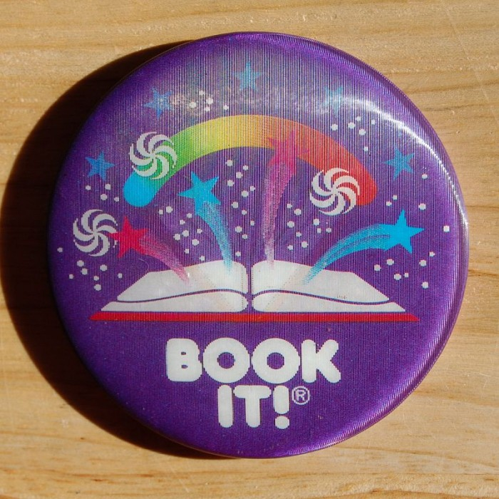 book it badge