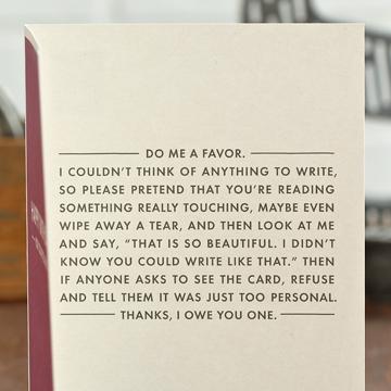Do me a favor - Card.jpg