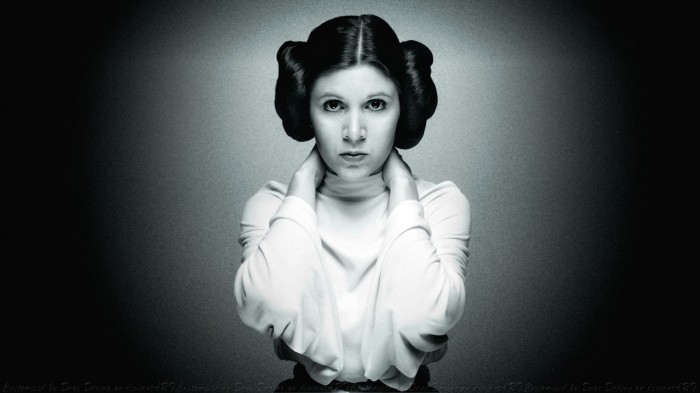 carrie fisher  princess leia by dave daring.jpg