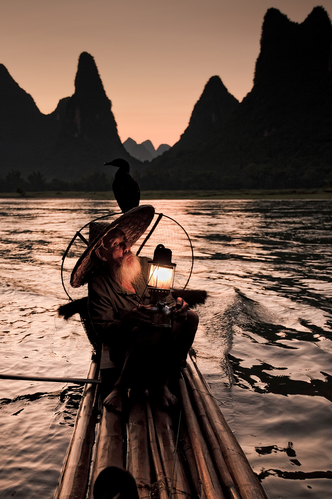 chinese river man
