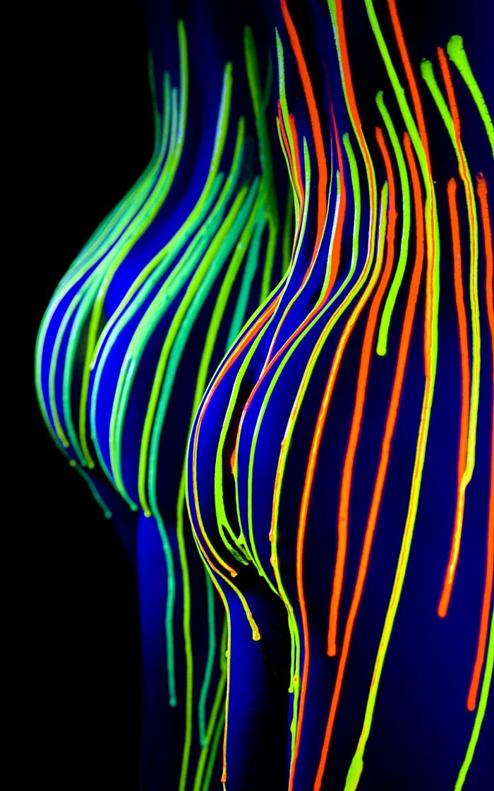 neon asses neon asses Sexy not exactly safe for work Art