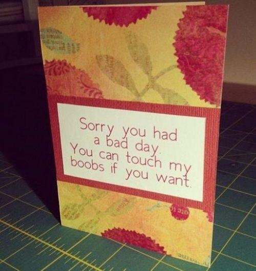sorry you had a bad day - you can touch my boobs.jpg