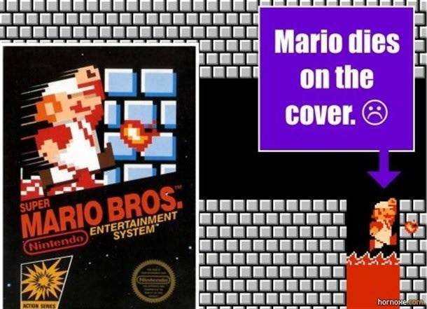 Mario dies on the cover.jpg
