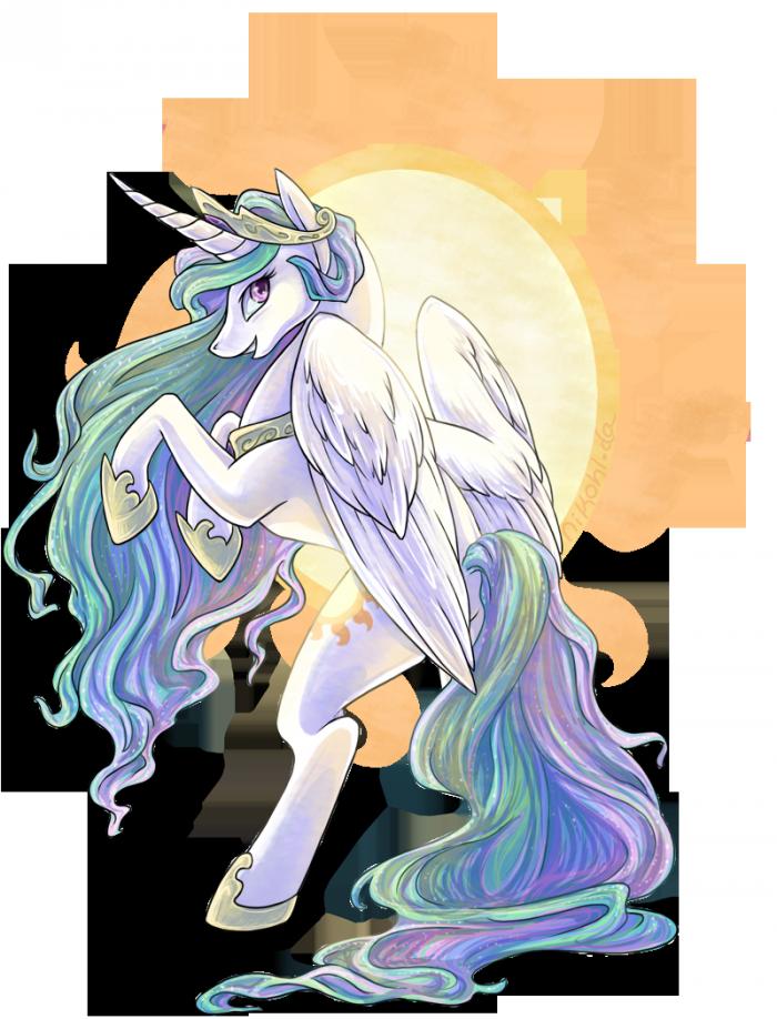 Princess Celestia by ~nikohl
