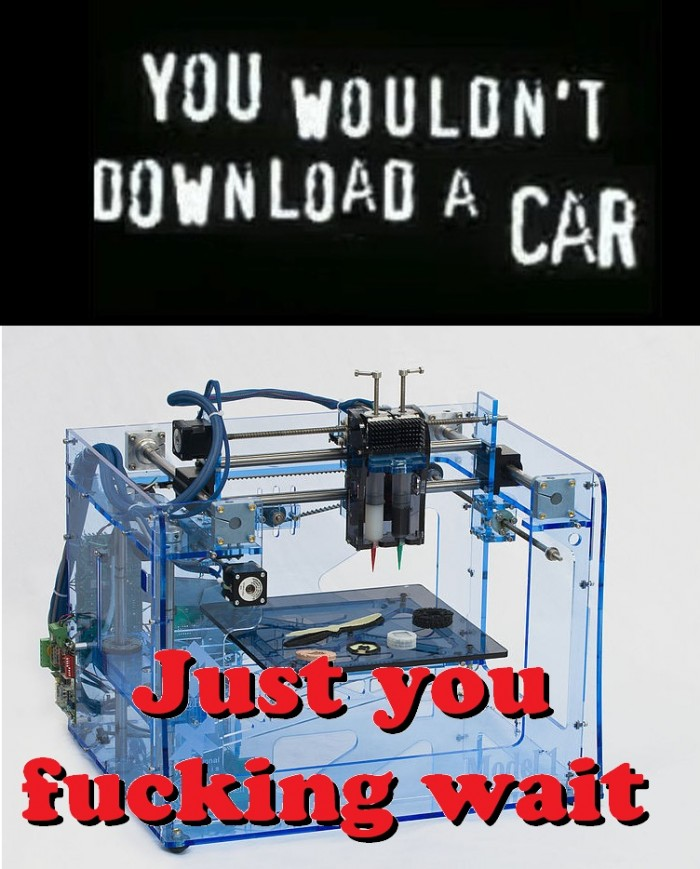 You wouldn't download a car - fuck you, just wait.jpg