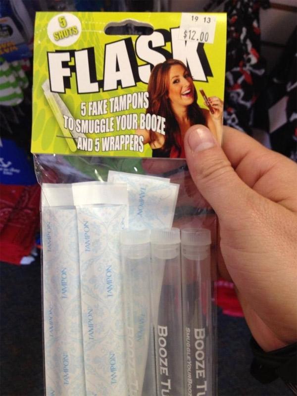 tampon-flask