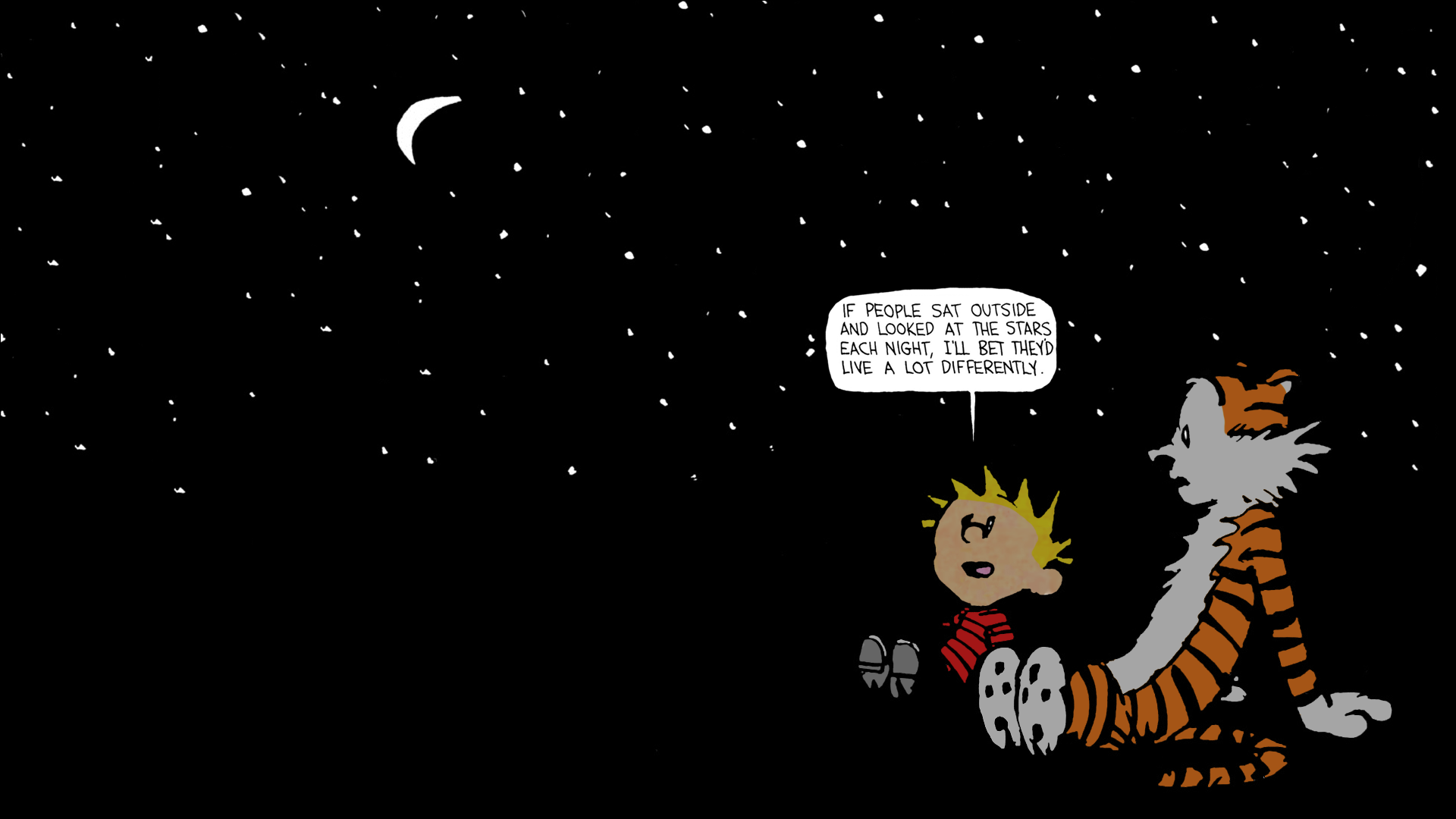 Calvin And Hobbes Stars Myconfinedspace