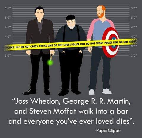 Joss Whedon, George R. R. Martin and Steven Moffat walk into a bar.jpg