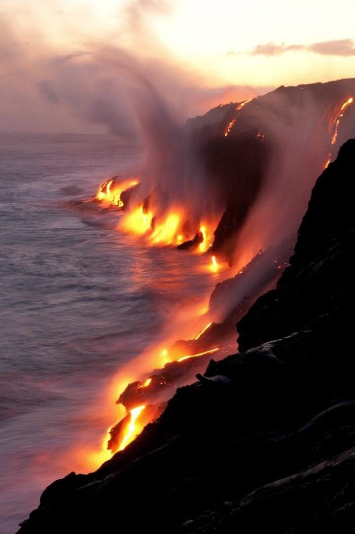 Lava Steam