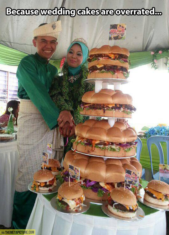 Wedding cakes are overrated